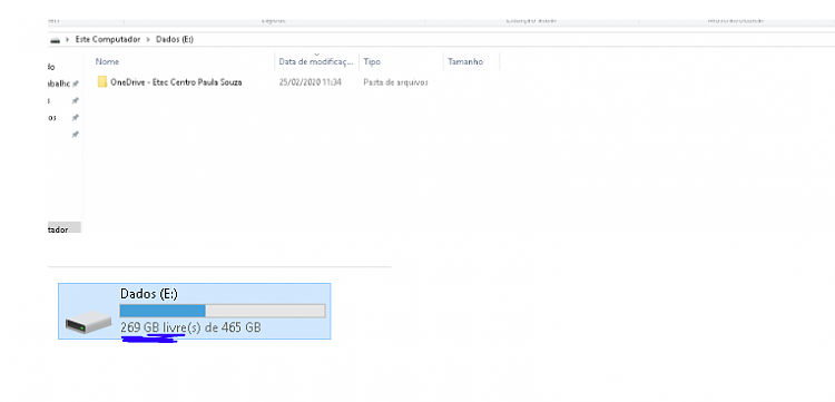 OneDrive folder error after formatting (Error 0X80070780)-capturar.png