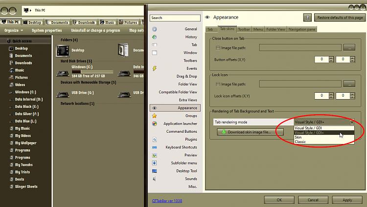 Qttabbar-white tabs in explorer dark mode-Command names black on black-000147.png