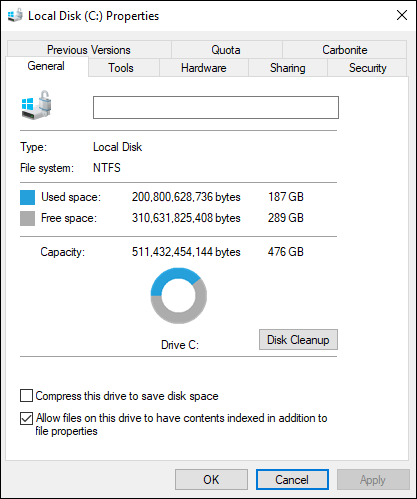 Installing programs on a different drive question-os-drive-space-used.png