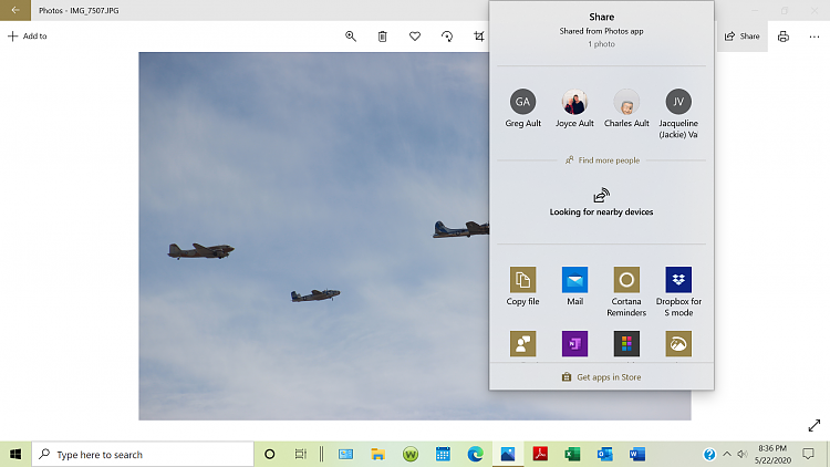 Adding and removing apps in windows 10 ver. 1909, Photos, Share-screenshot-12-.png