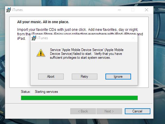 Apple Mobile Device USB Driver Windows
