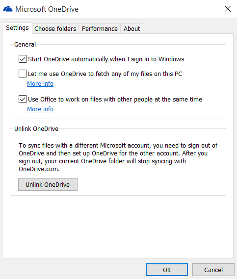 Click image for larger version.  Name:OneDrive Settings.PNG Views:215 Size:16.6 KB ID:28800
