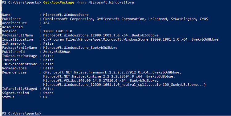 PowerShell command to check if Microsoft Store is installed-image.png