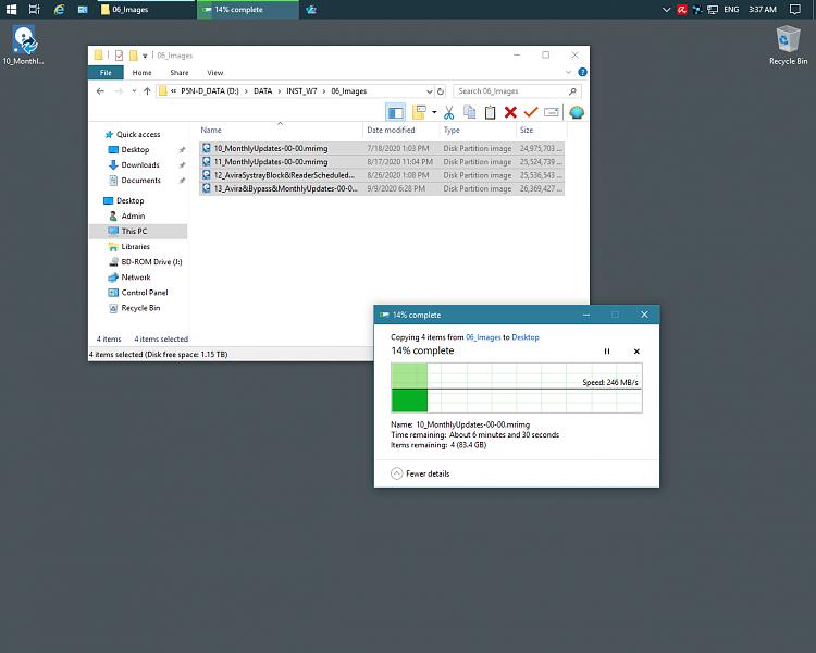 Filezilla  concurrent copying on same Host - Forget File Explorer-3.png