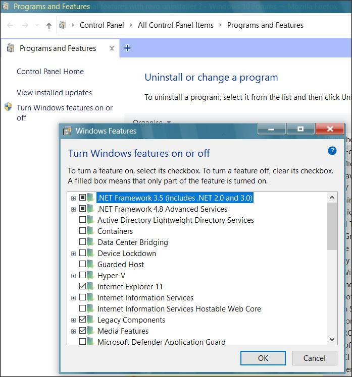 How to uninstall optional features with revo uninstaller ?-1.jpg