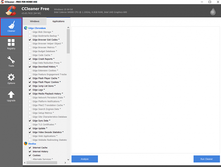CCleaner always has bugs even though it's always there's new version-ccleaner-free-home-use.png
