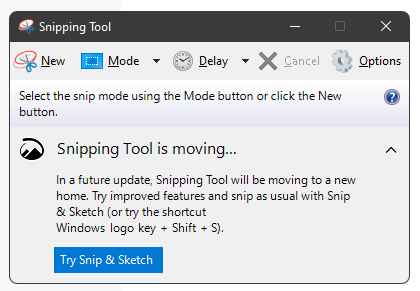 I'm trying to save snipping tool, What DLLs/dependencies does it use?-snipping-tool-moving.png