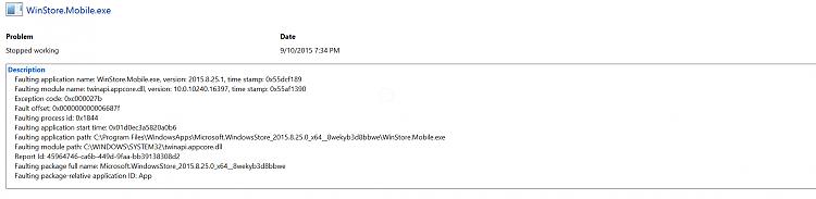 Windows store keeps crashing when opening Solved - Windows