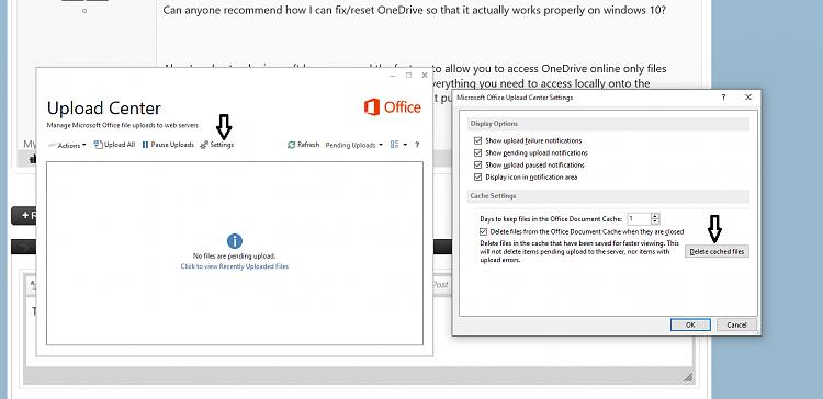 OneDrive desktop app crashing on Windows 10 Solved - Windows 10 Forums