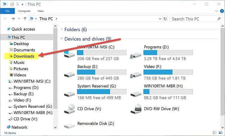 Can't find downloaded program Solved - Windows 10 Forums