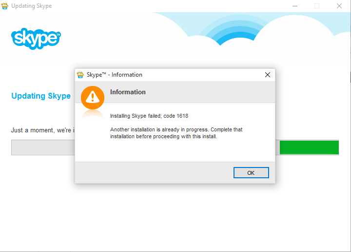 Click image for larger version.  Name:skype error 1618.png Views:3 Size:20.9 KB ID:43285