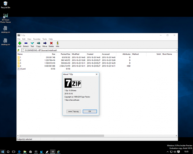 7-Zip 15.09 beta now opens Install.esd archive-screenshot-1-.png