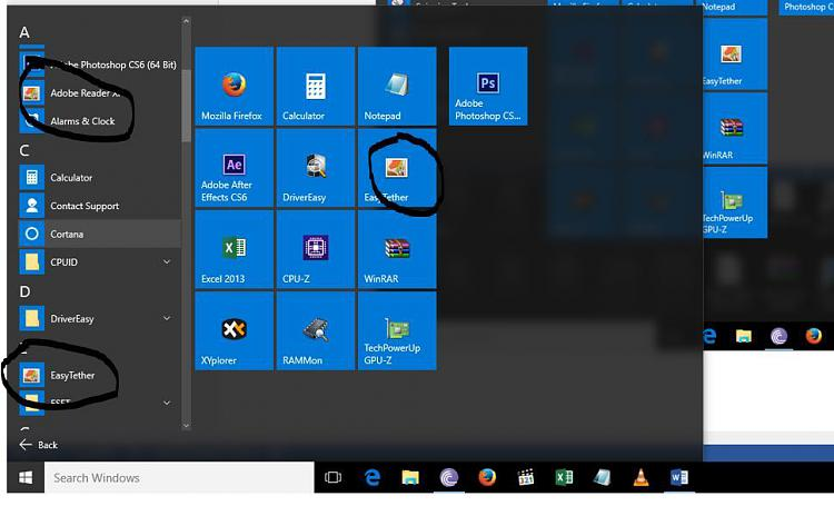 Missing icons in some apps - Windows 10 Forums