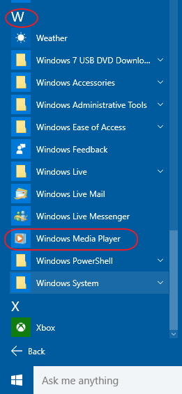 How do I make WMP default application for music CDs?-windows-media-player.jpg