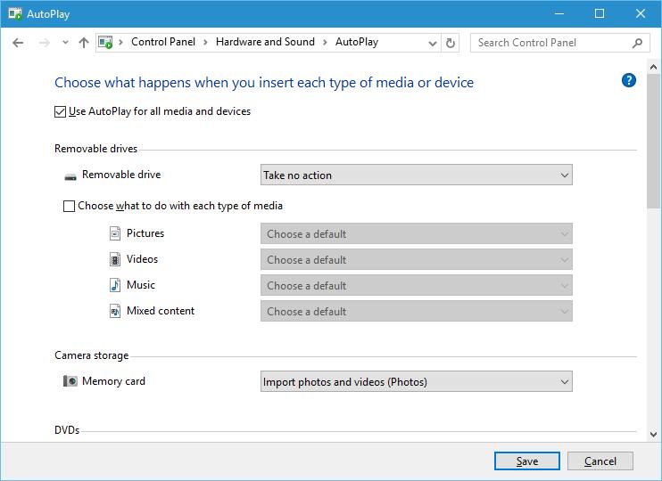 Change Default Photo Import Program Windows 10 Forums