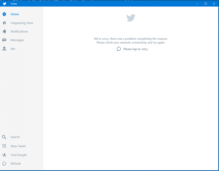 New universal Twitter app does not work - Windows 10 Forums