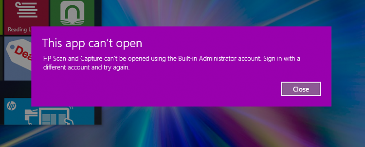 applications not opening windows 10