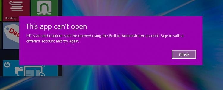 0X80080300 Net Helpmsg 2182 Programs not opening - Windows