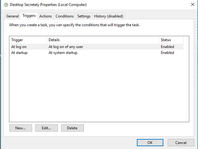 Can't Get Task Scheduler To Start a programme on log-on/Startup-capture-2.jpg