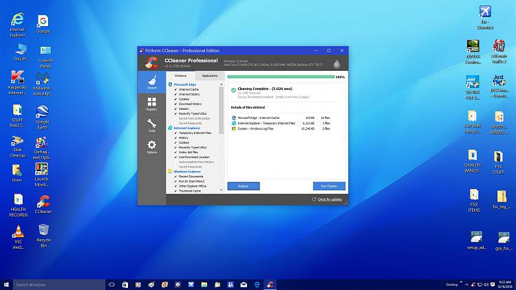 ccleaner free  windows 10