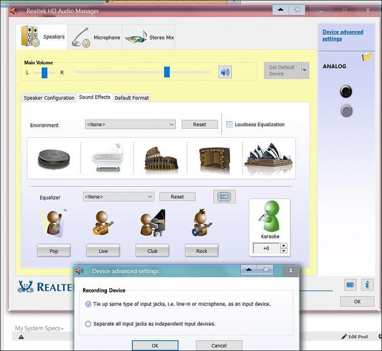 hd realtek audio manager download