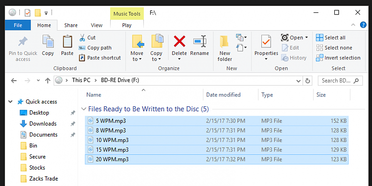 How can I burn an audio CD? Solved - Windows 10 Forums