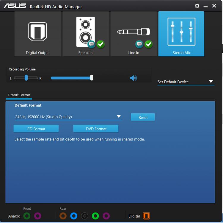 Realtek HD Audio Driver Version old post - Page 47 - Windows 10 Forums
