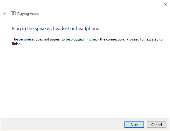 no audio from dell computer