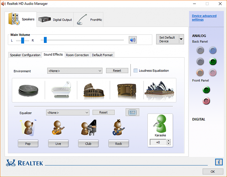 realtek hd audio driver update windows 10