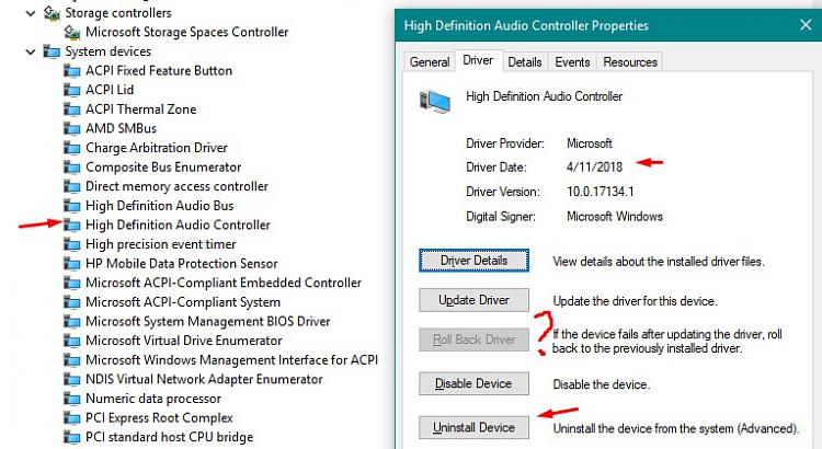 Updated to Version 1803, HDMI audio on TV Solved - Page 2 - Windows