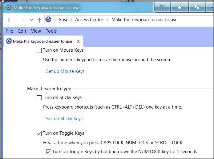 No Sound Indication On Cap Lock Solved Windows 10 Forums