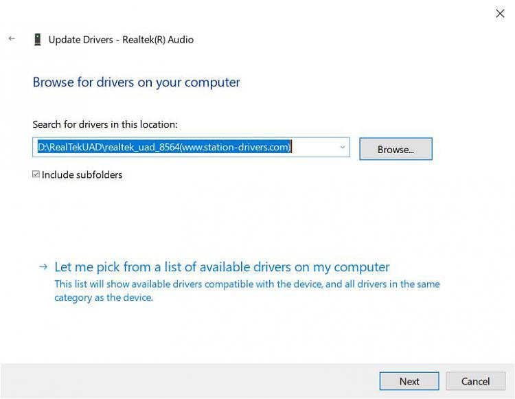 Realtek Audio Console REQUIRES a Realtek HD (UAD) Driver!!-uad-window.jpg