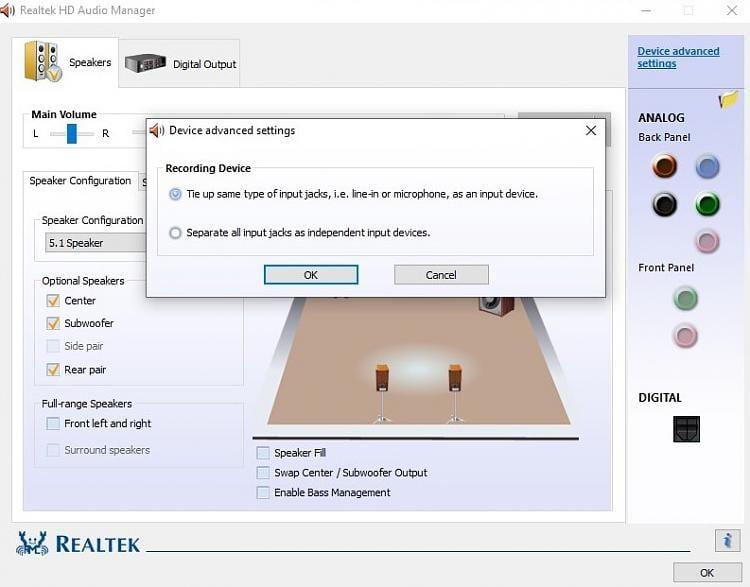 Latest Realtek HD Audio Driver Version - Page 182 - Windows
