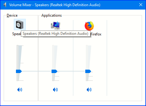 Realtek Audio Console REQUIRES a Realtek HD (UAD) Driver
