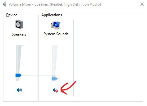 Windows 10 Not Playing System Sounds  All Other Sounds Are