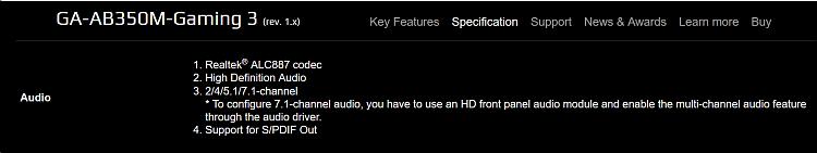Latest Realtek HD Audio Driver Version - Page 223 - Windows