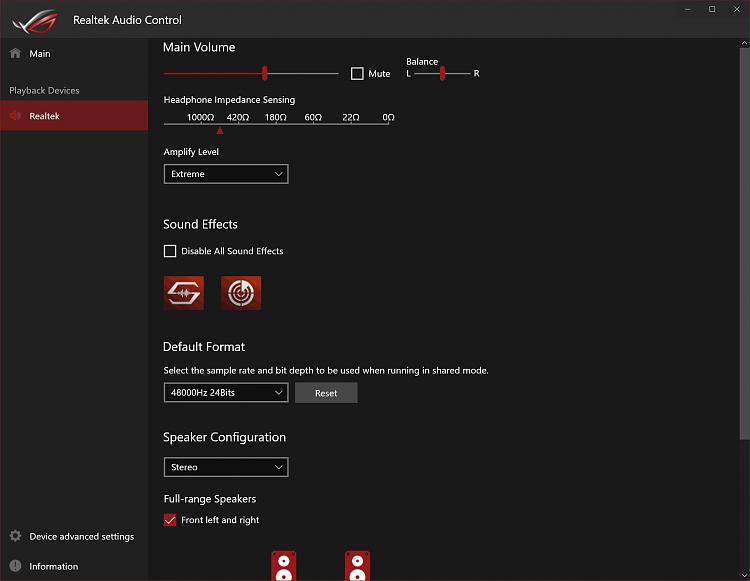 Realtek Audio Console REQUIRES a Realtek HD (UAD) Driver!! - Page 17