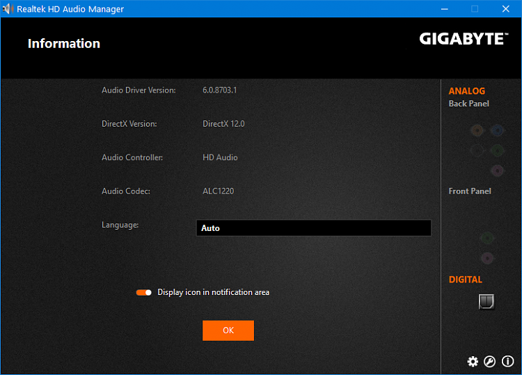 Latest Realtek HD Audio Driver Version - Page 281 - Windows 10 Forums