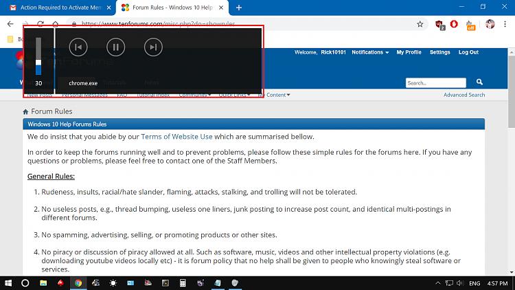 Windows 10 volume bar on top left is huge Solved - Windows