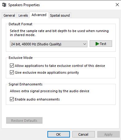 Sound Properties under Realtek Drivers Missing Enhancement Tab-screenshot.png