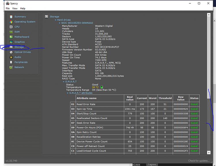 Sound Properties under Realtek Drivers Missing Enhancement Tab-storage.png