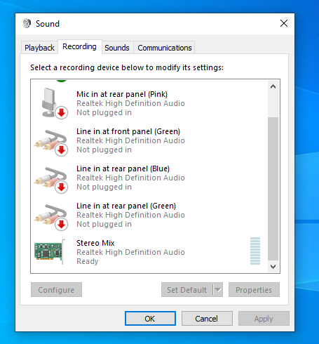 Headphone, earphone and microphone are not in Sound Control Panel.-untitl2ed.png