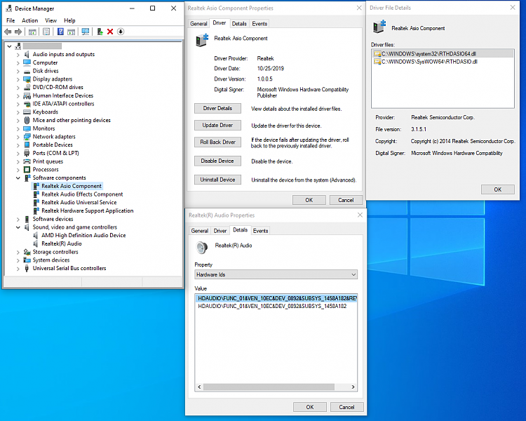 Realtek ASIO Driver installs but fails to operate-realtek-uad-software-compoments-asio-devmgmt.png