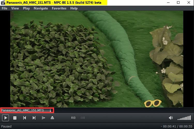 VLC --really good tool for repairing corrupt video files (mp4 etc)-mpc-1.5.5-build-5274-beta.jpg