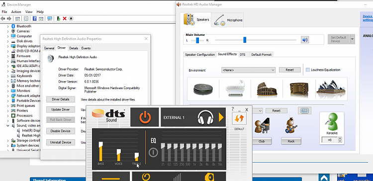 Realtek Hd Users Does Your Sound Crackle When You Change The Volume Windows 10 Forums