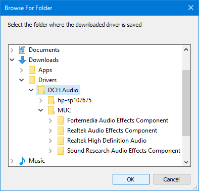 Determine the DCH (UAD) Realtek driver needed for your Audio-folderpickerdrivers.png
