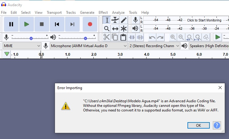 Help with Audacity trying to import an .mp4-audacity.jpg