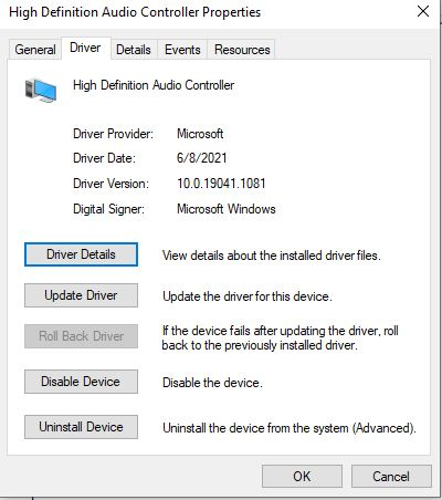 No audio device installed, old laptop upgrade to win10-driver-version.jpg