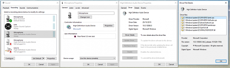 Microphone boost option not showing in Windows 10 sound