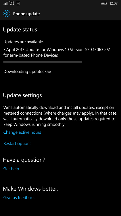 Windows 10 Mobile Creators Update Build 15063 in Release Preview ring-wp_ss_20170427_0001.png